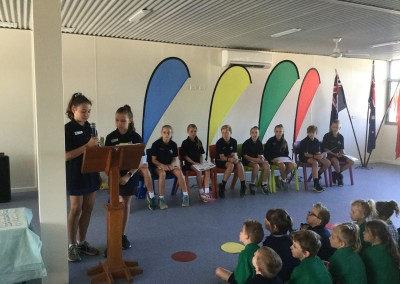 Whole School Assembly Term 1