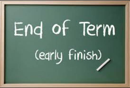 Last day of Term 1 – Friday 5 April 2019 – Early Dismissal