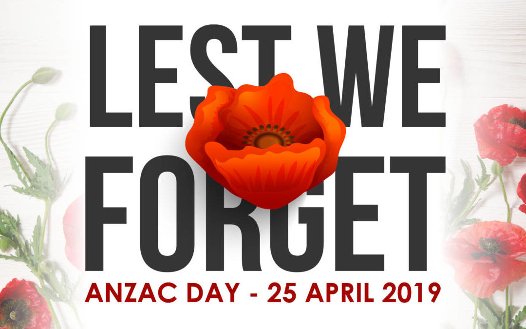 ANZAC Day Badges – On sale now